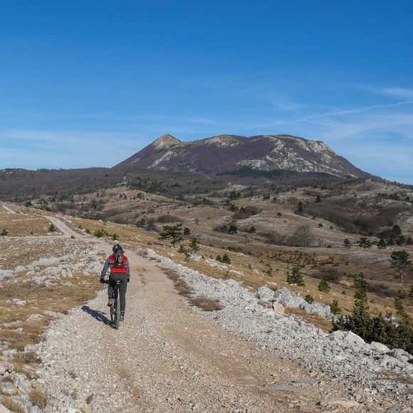 The ride on the ridge